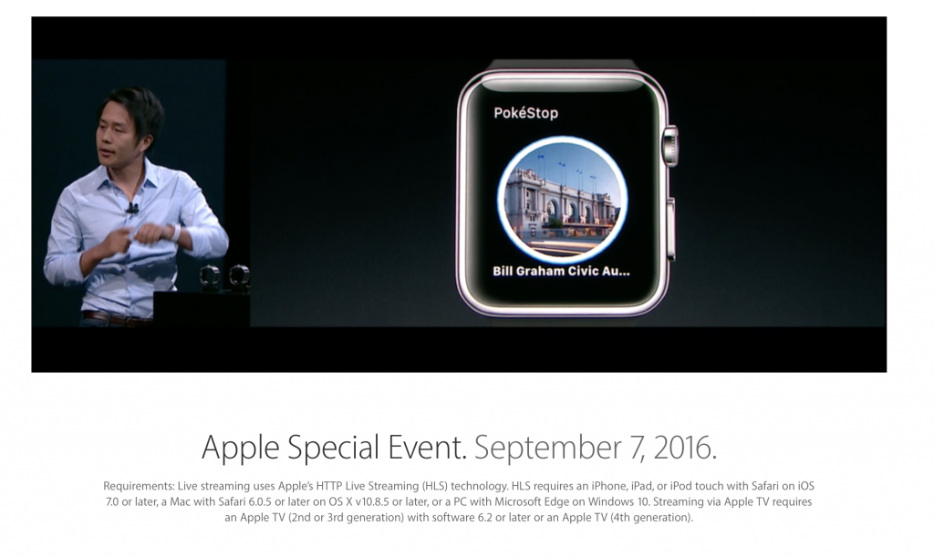 konferencja apple 2016