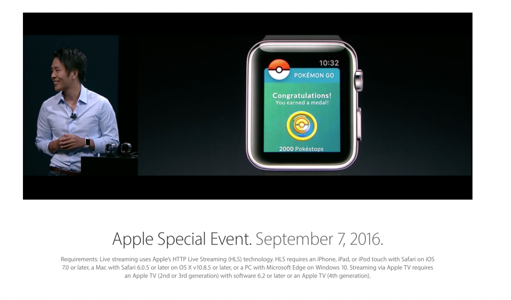 Pokemon GO na Apple Watch!