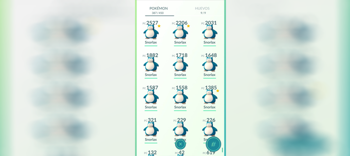 snorlax screen